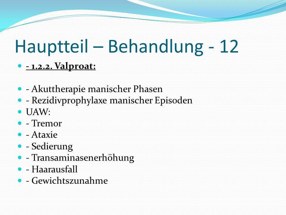 Hauptteil – Behandlung - 12