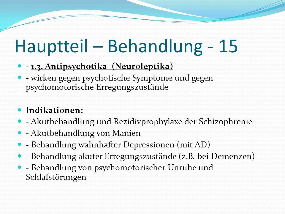 Hauptteil – Behandlung - 15