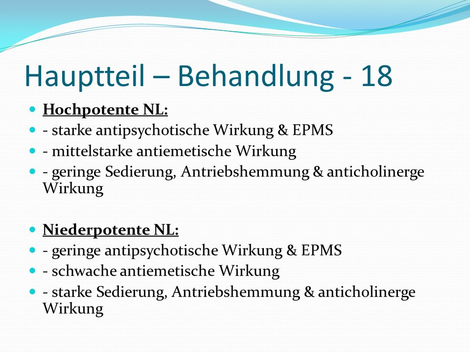 Hauptteil – Behandlung - 18
