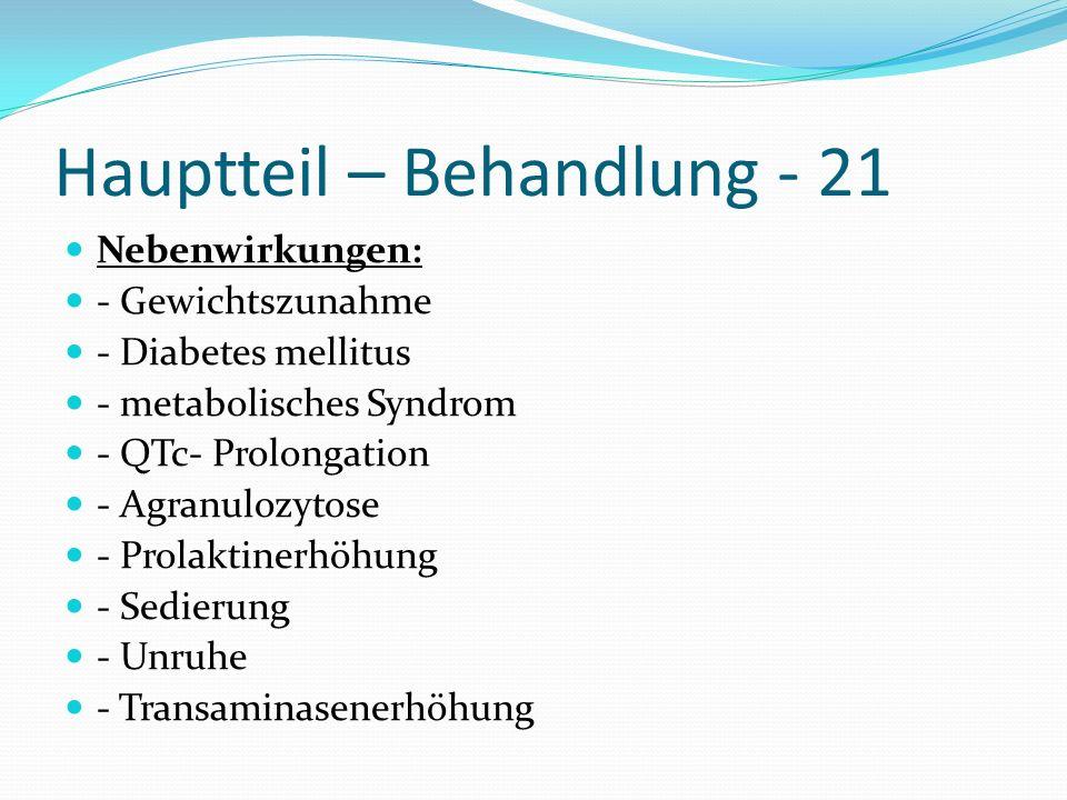 Hauptteil – Behandlung - 21