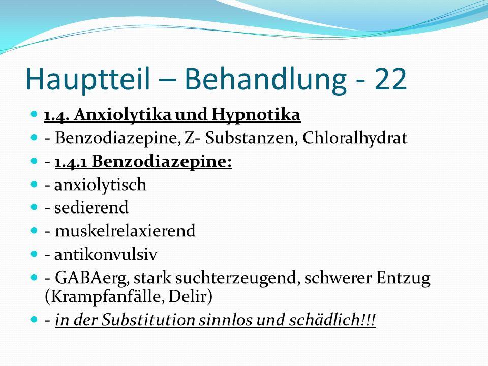 Hauptteil – Behandlung - 22