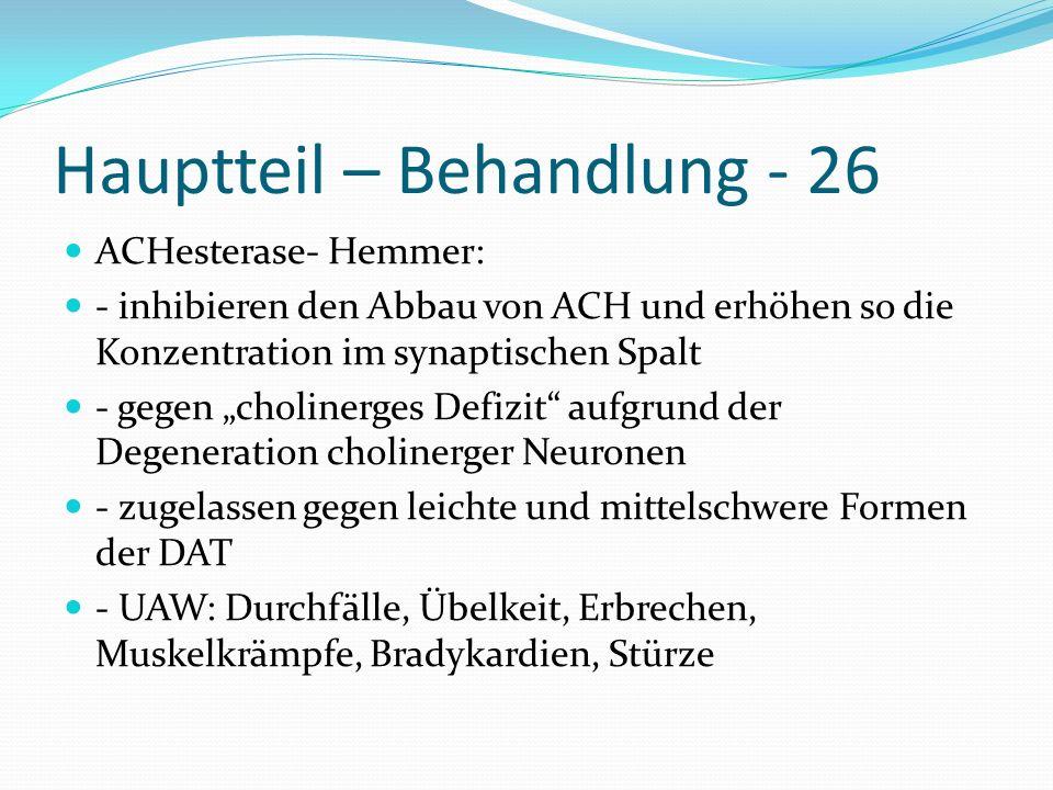 Hauptteil – Behandlung - 26