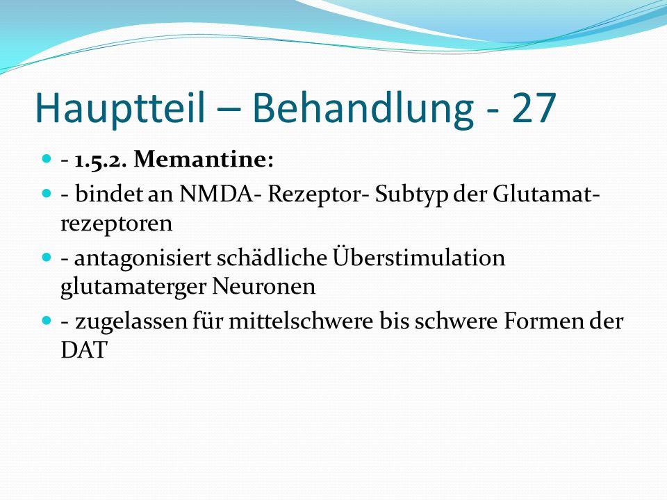 Hauptteil – Behandlung - 27