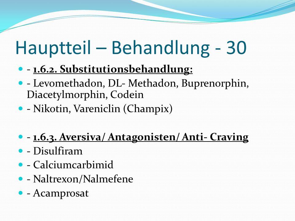 Hauptteil – Behandlung - 30