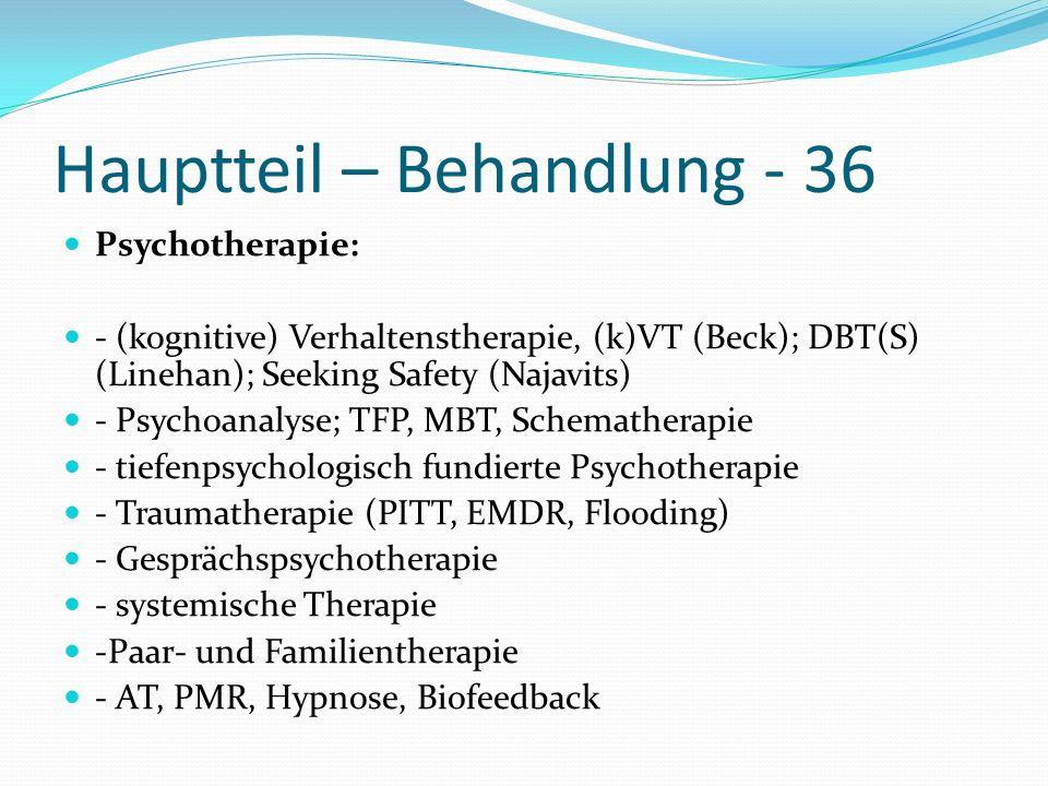 Hauptteil – Behandlung - 36