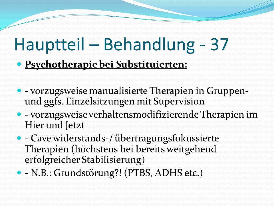 Hauptteil – Behandlung - 37