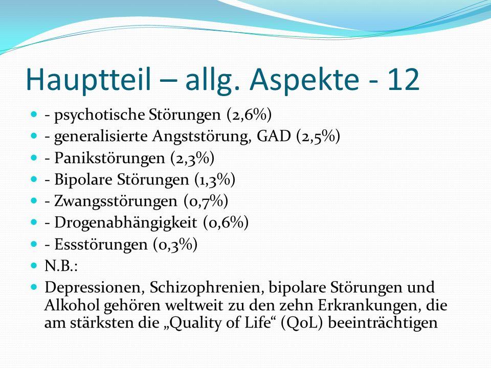 Hauptteil – allg. Aspekte - 12
