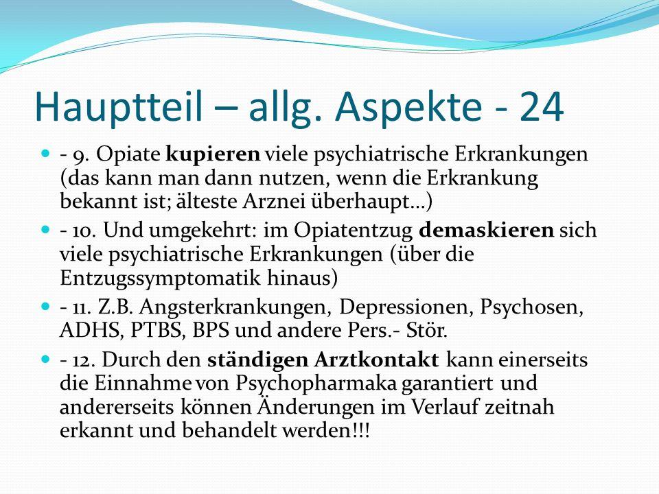 Hauptteil – allg. Aspekte - 24