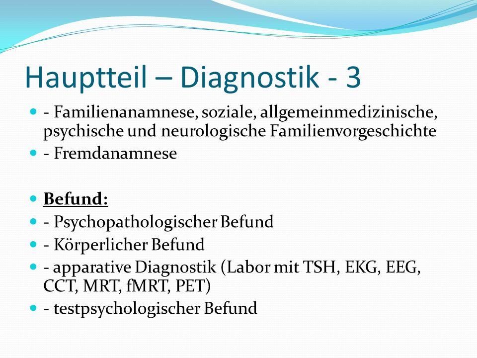 Hauptteil – Diagnostik - 3