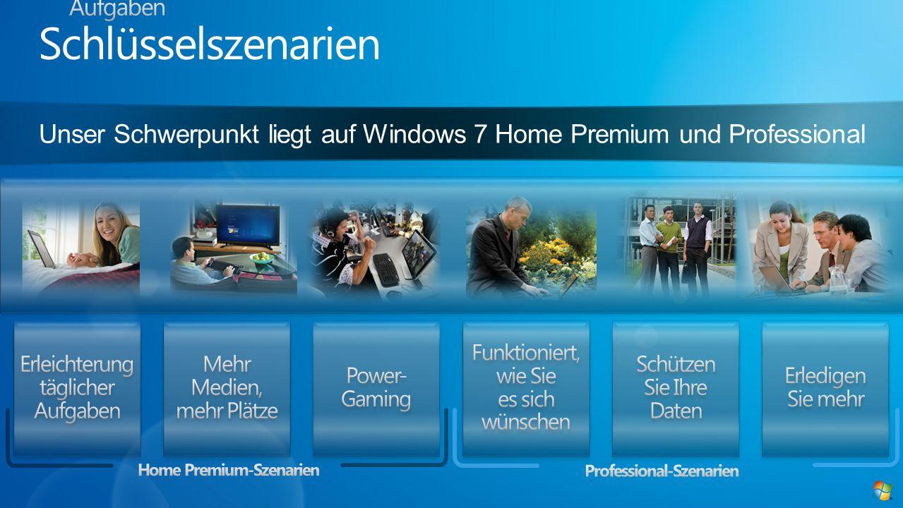 Home Premium-Szenarien Professional-Szenarien