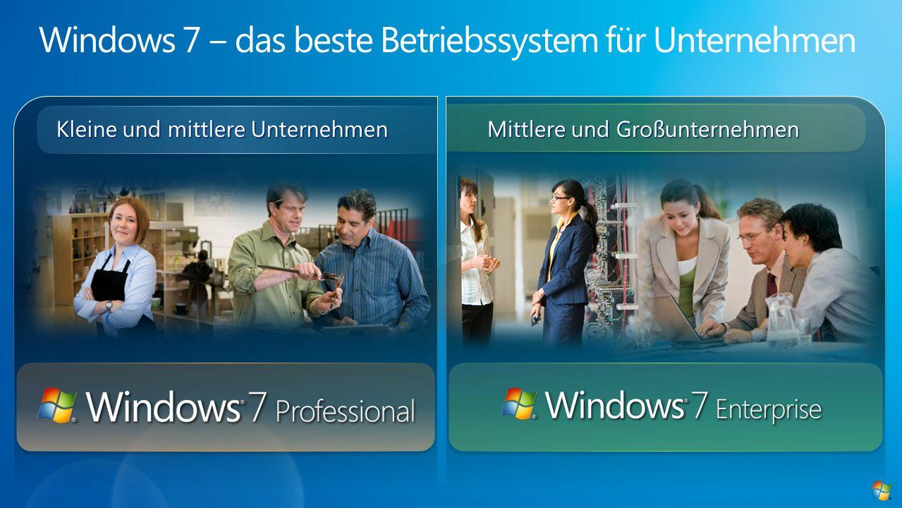 Windows 7 ‒ das beste Betriebssystem für Unternehmen