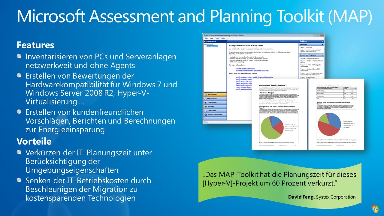 Microsoft Assessment and Planning Toolkit (MAP)