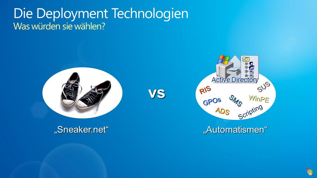 Die Deployment Technologien Was würden sie wählen