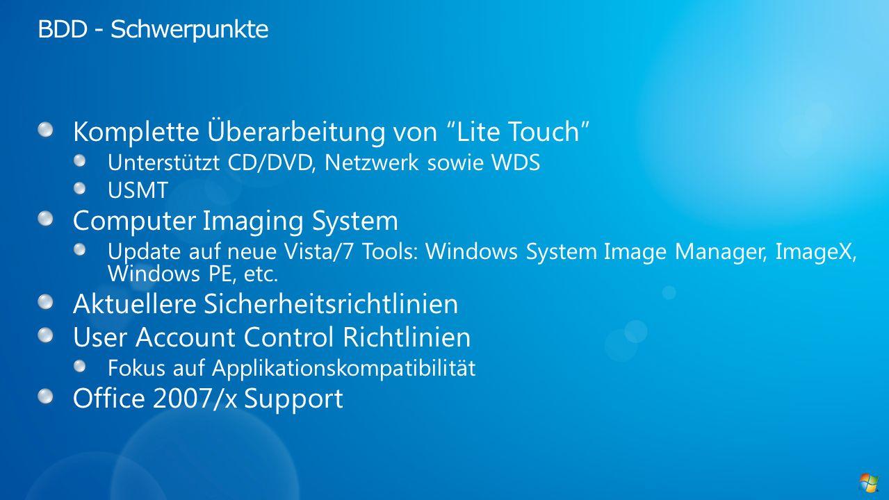 Komplette Überarbeitung von Lite Touch Computer Imaging System