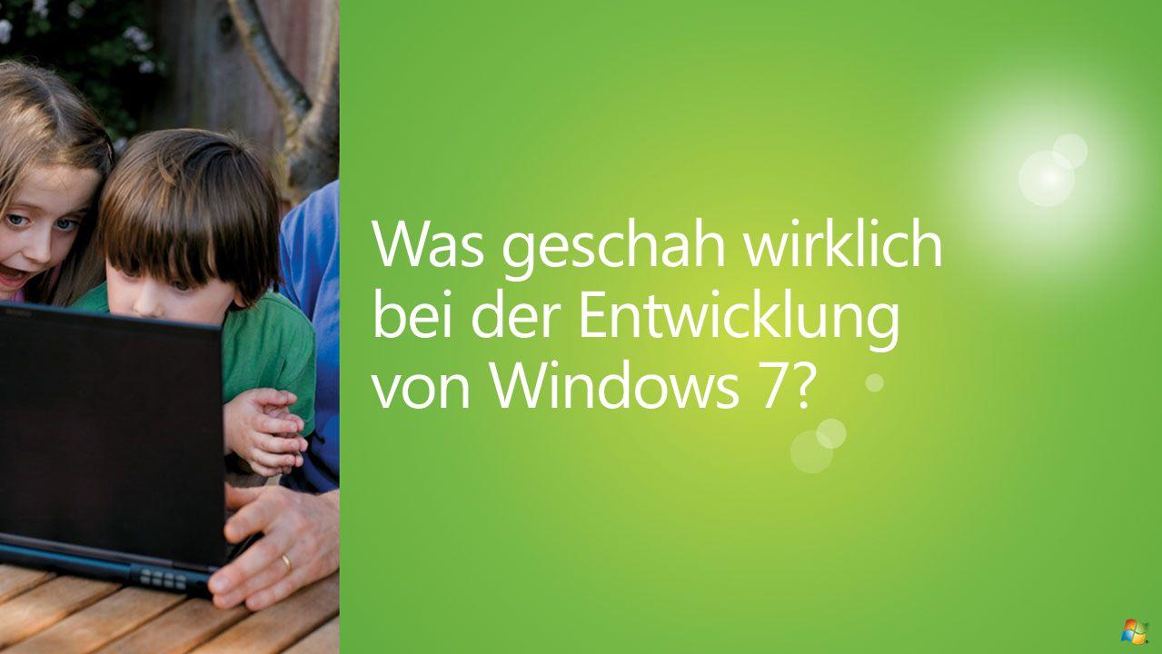 Was geschah wirklich bei der Entwicklung von Windows 7