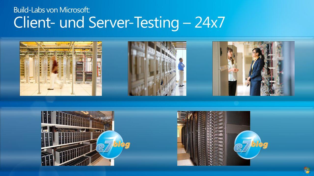 Build-Labs von Microsoft: Client- und Server-Testing – 24x7