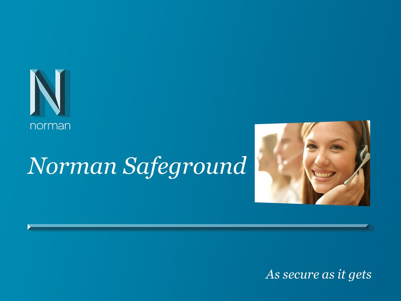 Norman Safeground As secure as it gets