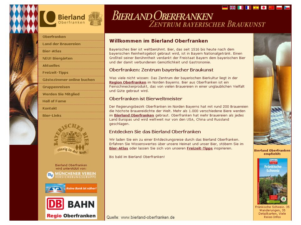 Quelle: www.bierland-oberfranken.de