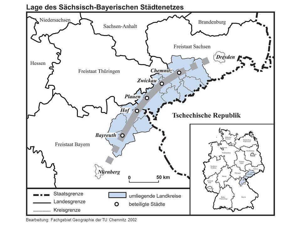 Bearbeitung: Fachgebiet Geographie der TU Chemnitz 2002