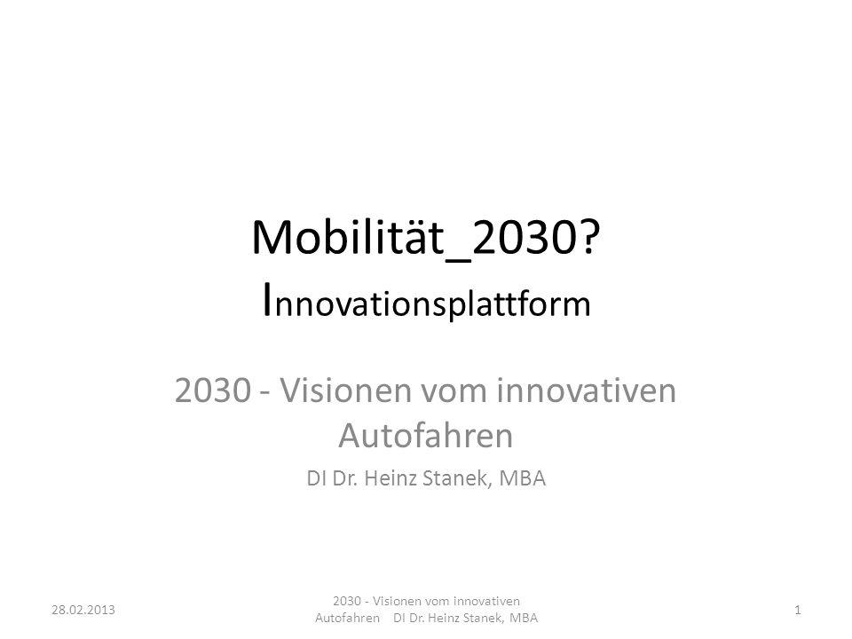 Mobilität_2030 Innovationsplattform