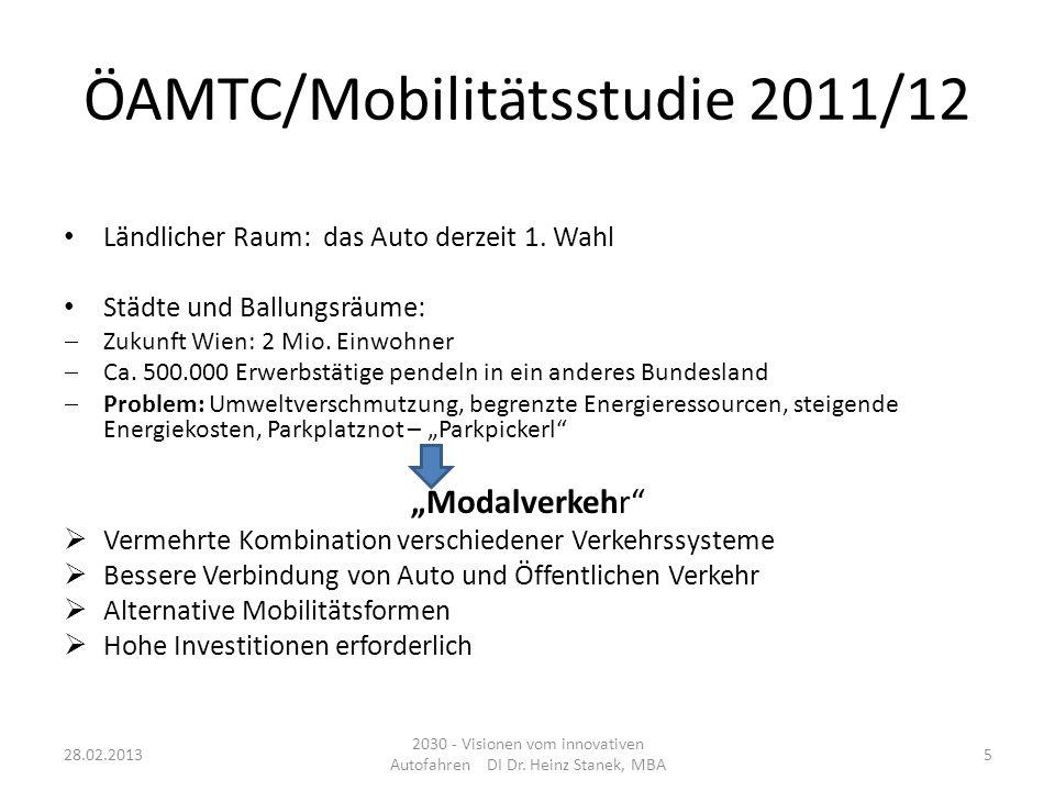 ÖAMTC/Mobilitätsstudie 2011/12