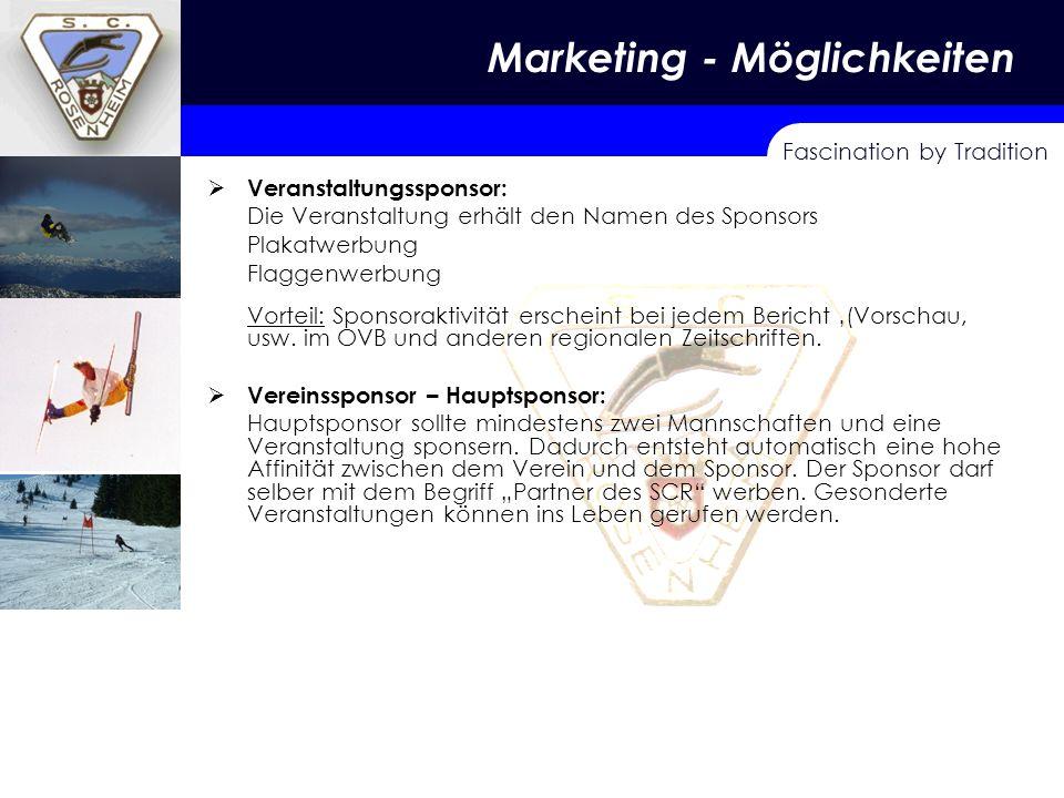 Marketing - Möglichkeiten