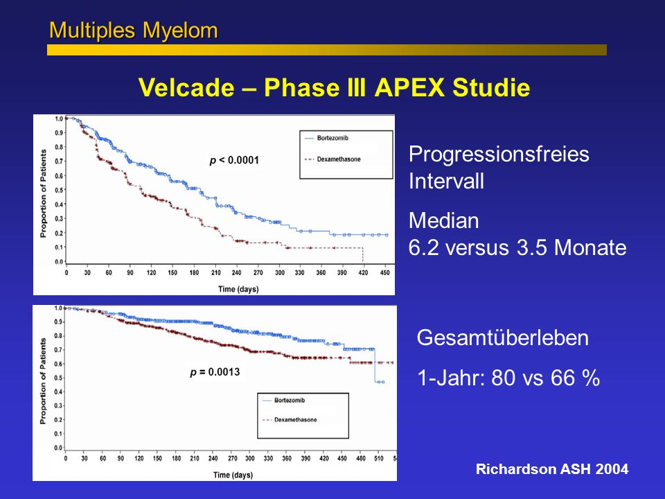 Velcade – Phase III APEX Studie