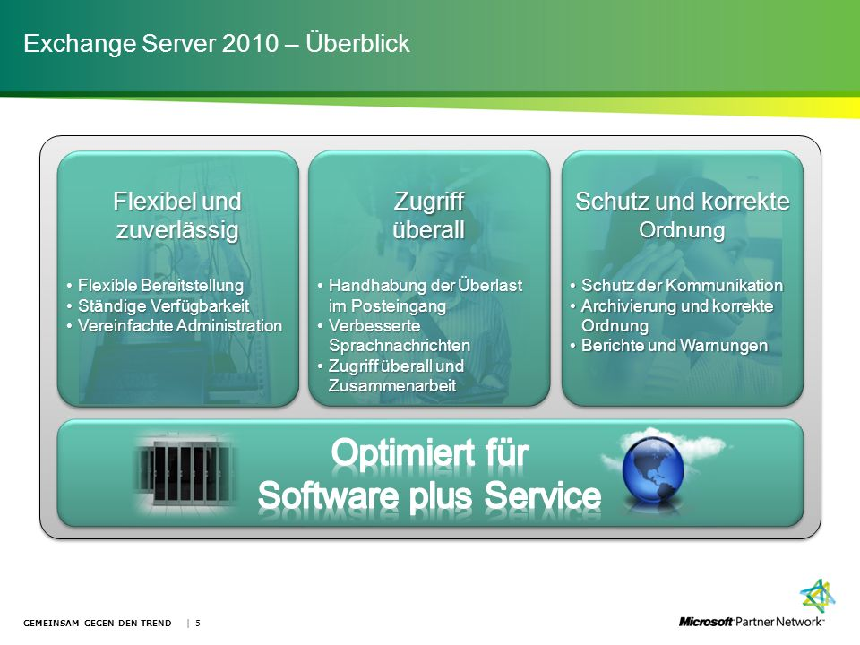 Exchange Server 2010 – Überblick