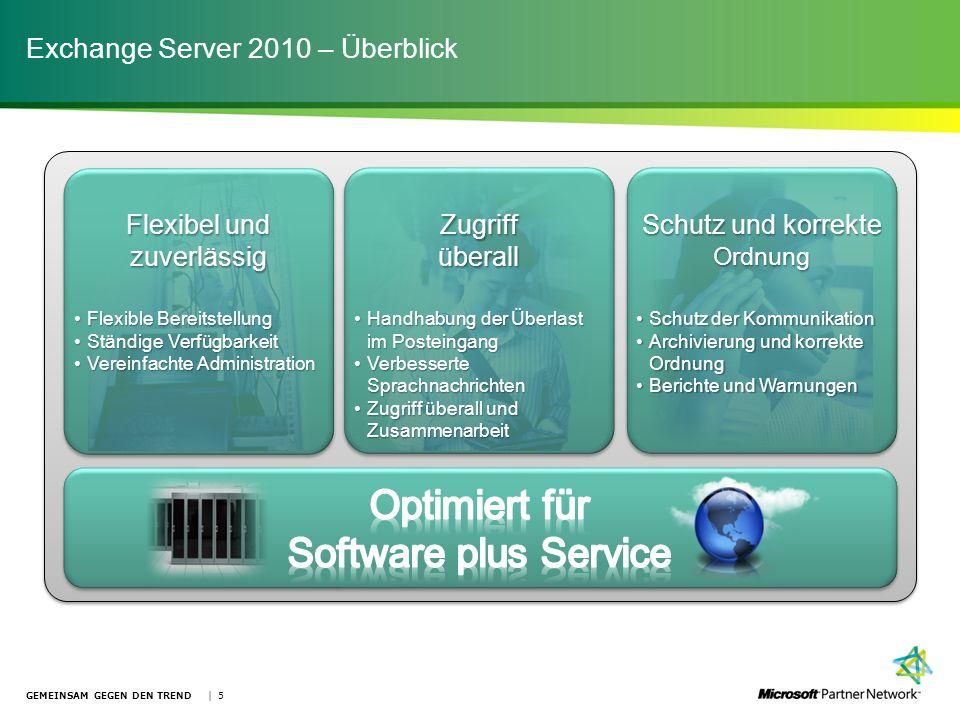 Exchange Server 2010 – Überblick