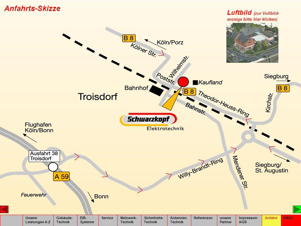 Anfahrts-Skizze Luftbild (zur Vollbild- anzeige bitte hier klicken)