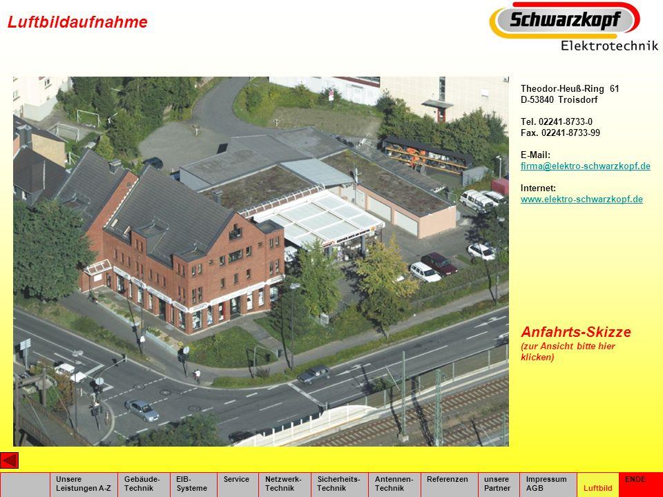 Luftbildaufnahme Anfahrts-Skizze (zur Ansicht bitte hier klicken)