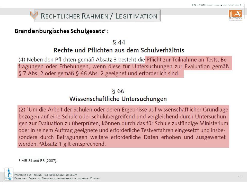 Brandenburgisches Schulgesetza: