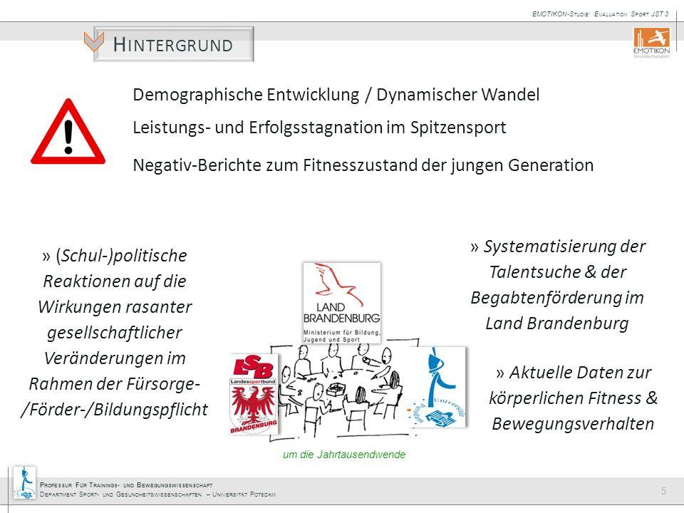 Hintergrund Demographische Entwicklung / Dynamischer Wandel