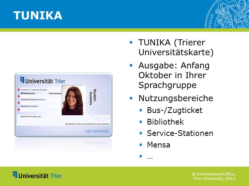 TUNIKA TUNIKA (Trierer Universitätskarte)