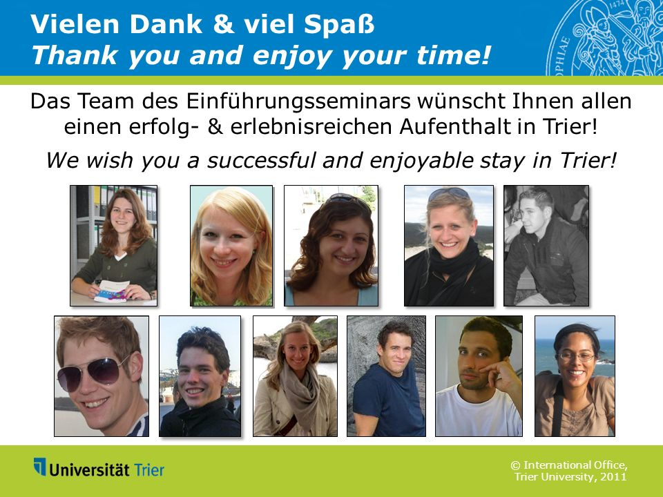 Vielen Dank & viel Spaß Thank you and enjoy your time!