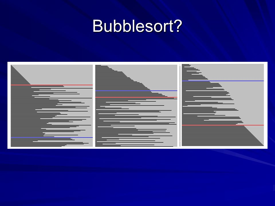 Bubblesort