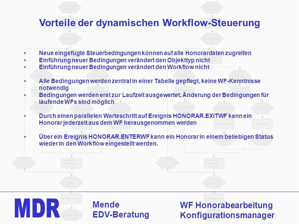 Vorteile der dynamischen Workflow-Steuerung
