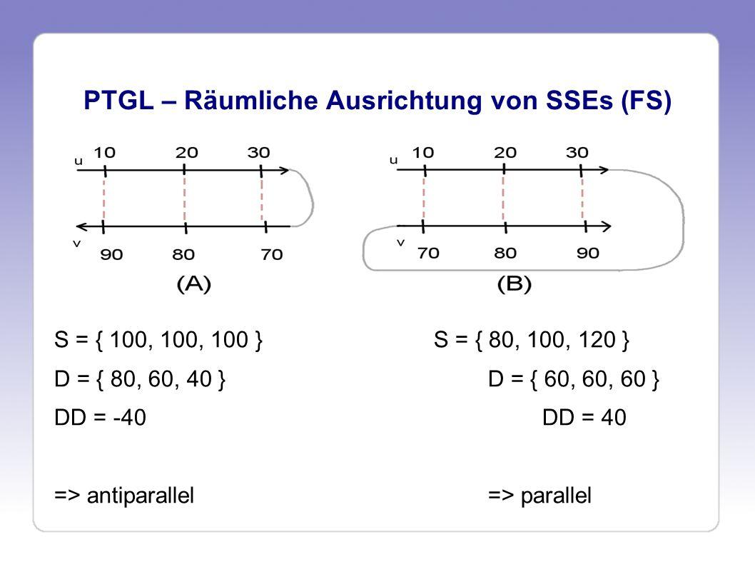 PTGL – Räumliche Ausrichtung von SSEs (FS)
