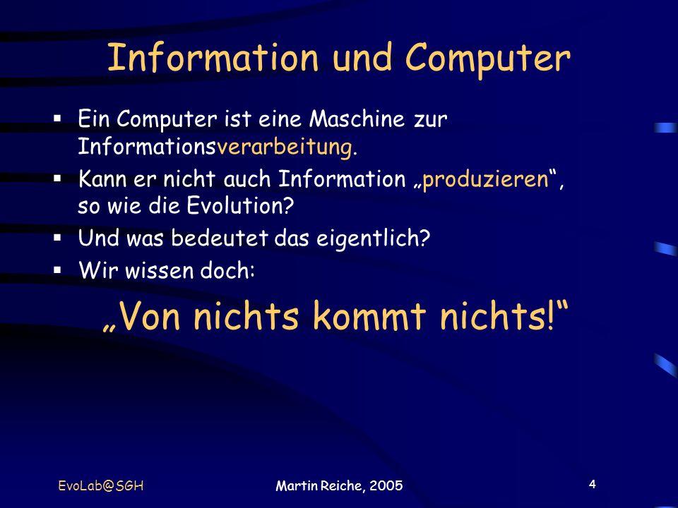 Information und Computer