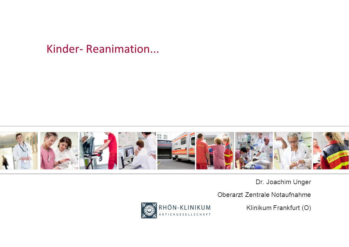 Dr. Joachim Unger Oberarzt Zentrale Notaufnahme Klinikum Frankfurt (O)