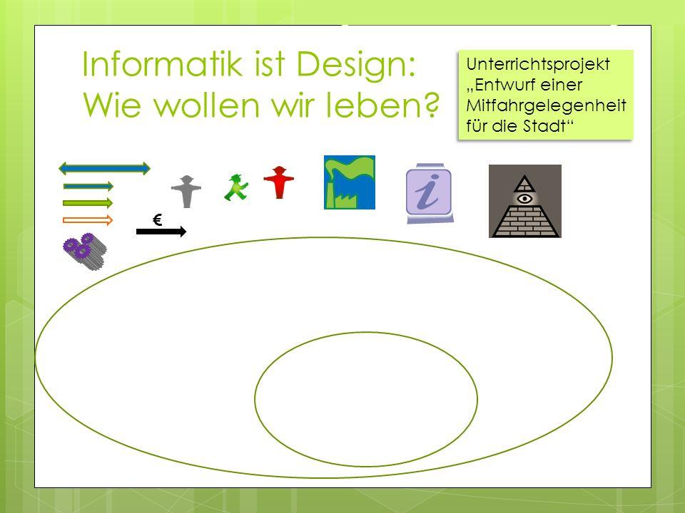 Informatik ist Design: Wie wollen wir leben