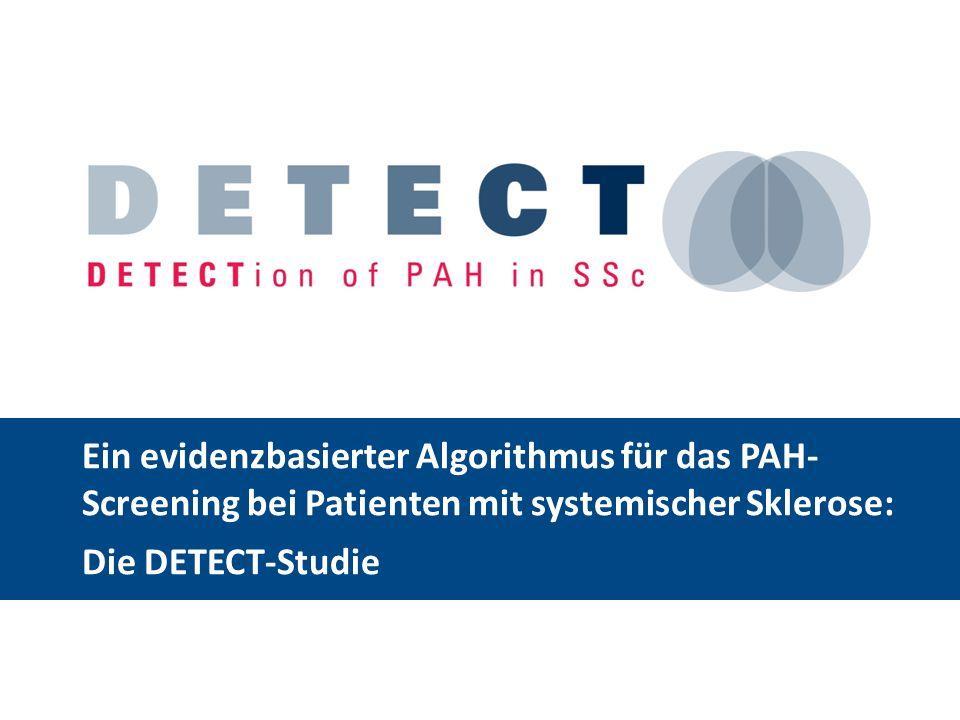 Ein evidenzbasierter Algorithmus für das PAH- Screening bei Patienten mit systemischer Sklerose: