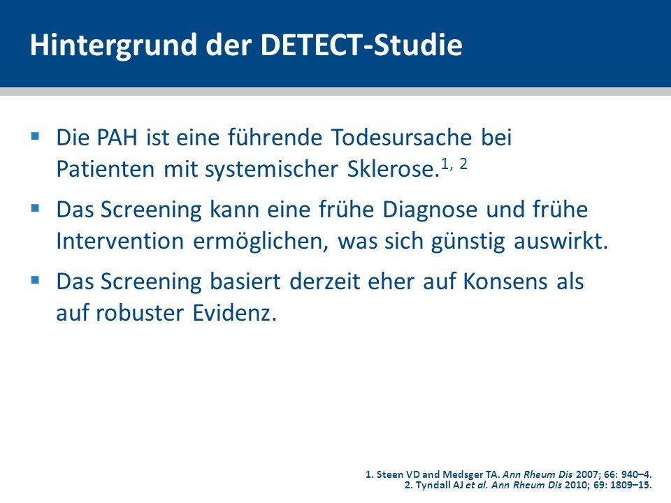 Hintergrund der DETECT-Studie