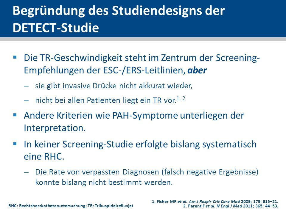 Begründung des Studiendesigns der DETECT-Studie