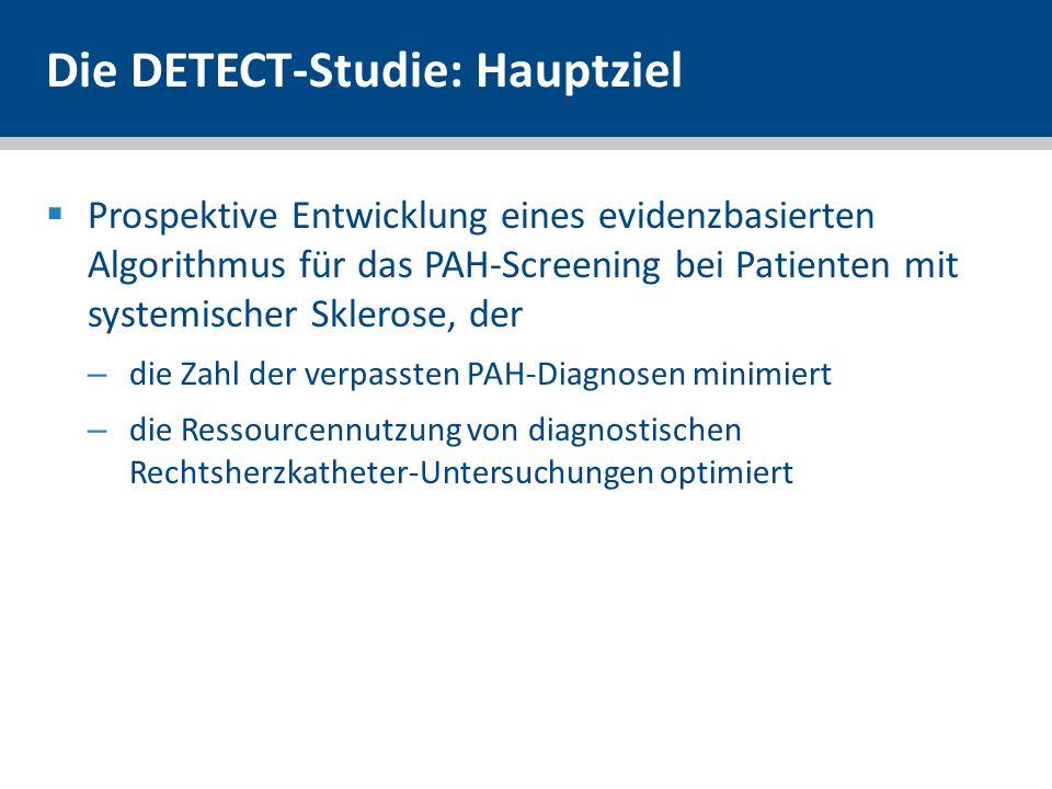 Die DETECT-Studie: Hauptziel