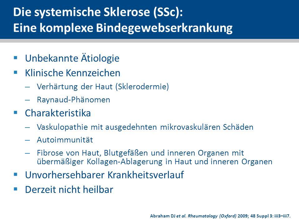 Die systemische Sklerose (SSc): Eine komplexe Bindegewebserkrankung