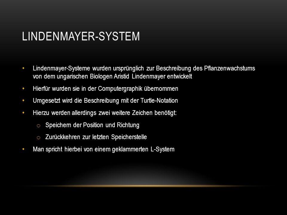 Lindenmayer-System