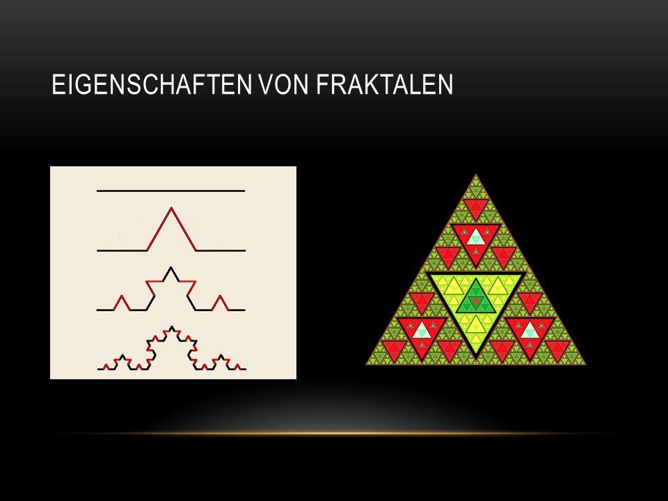 Eigenschaften von Fraktalen