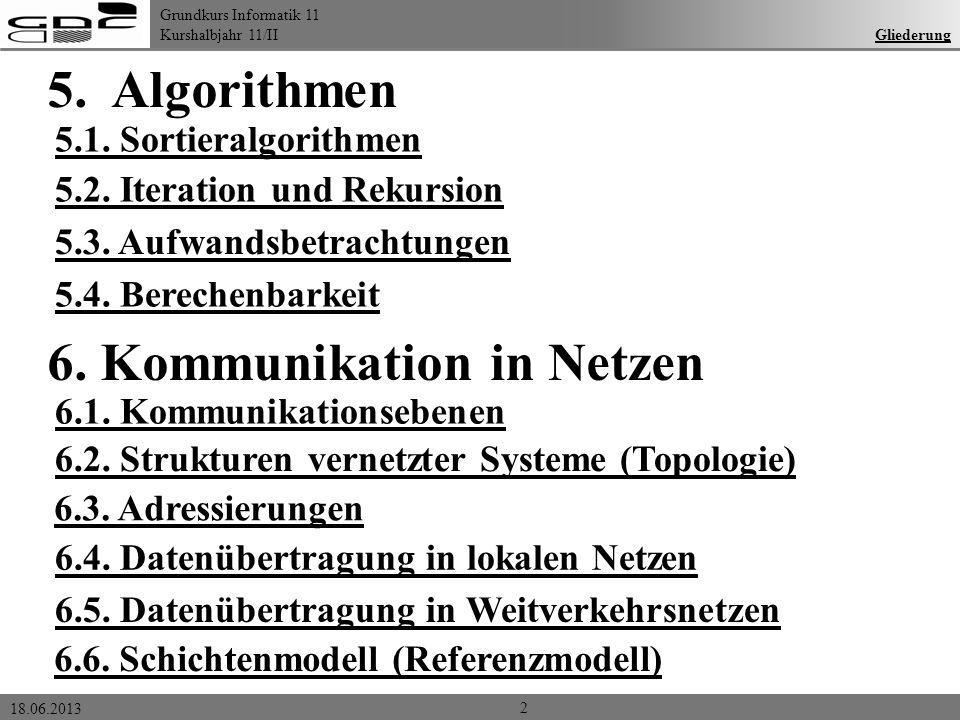 6. Kommunikation in Netzen