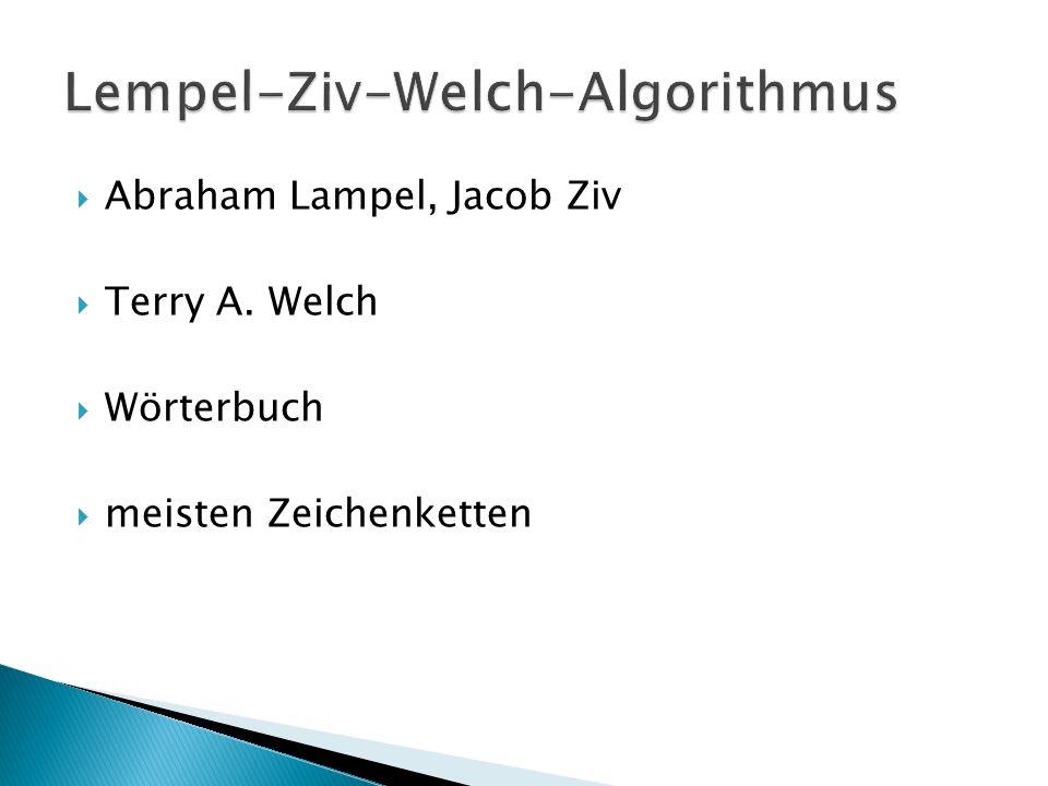 Lempel-Ziv-Welch-Algorithmus